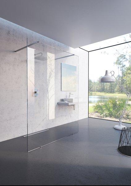 Mampara de baño Walk-In, modelo Free - RAVAK a.s.